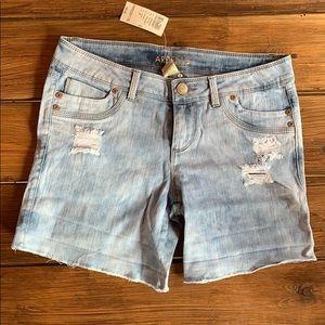 NWT Arden B Denim Shorts